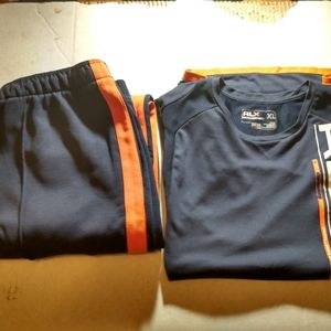 Polo Ralph Lauren Mens Jump Sweats Nylon Suit